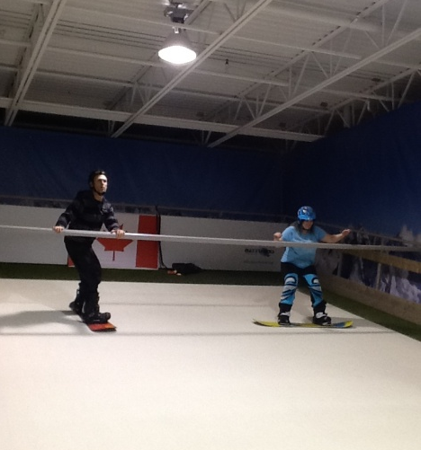 Indoor Snowboarding
